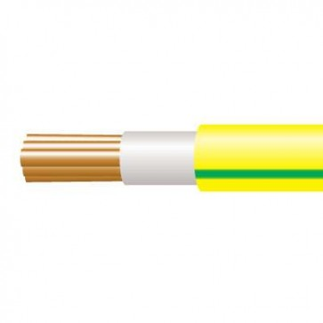 0.75mm Tri-Rated Green/Yellow 100m