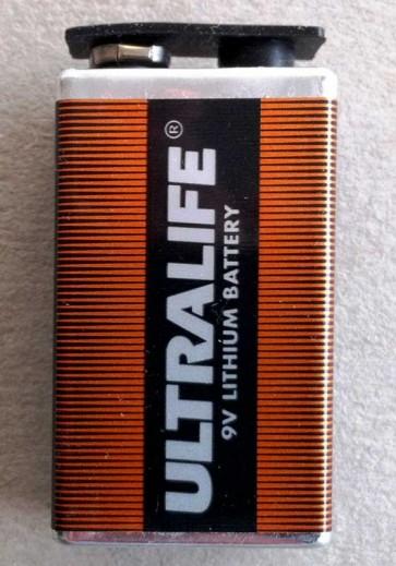 Ultralife PP3 9V Lithium battery