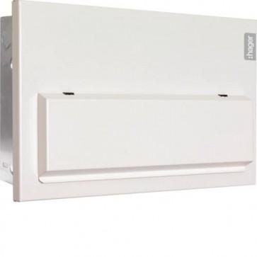 Hager VMLF710C D10 Flush Consumer Unit 10 Way Configurable 100A Sw 2*63A 30mA RCCB
