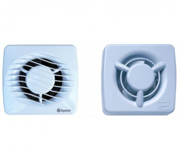 Xpelair DX100T Axial Extractor Fan 4 inch with timer (DX100T)