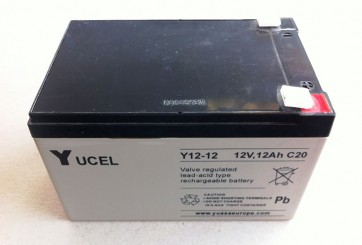 Y12-12 12V 12.0AH Sealed Lead Acid Rechargeable Battery