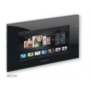 "BTICINO / LEGRAND 067267 New generation 10"" multimedia video touch screen, BLACK"