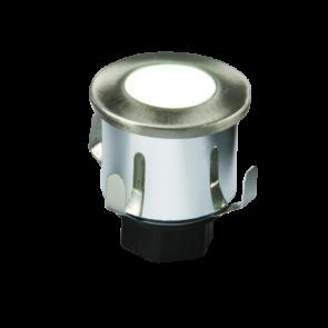 0.6w 230V IP65 LED White Mini Recessed Light 6000K cool white