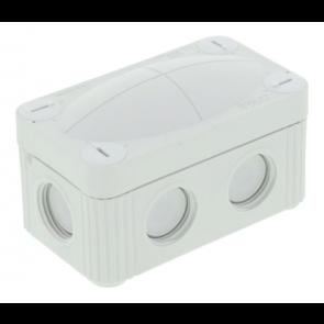 Wiska 10109569 COMBI® 206 LG Junction Box 85x49x51mm, Plastic, RAL 7035 - Buy online from Sparkshop