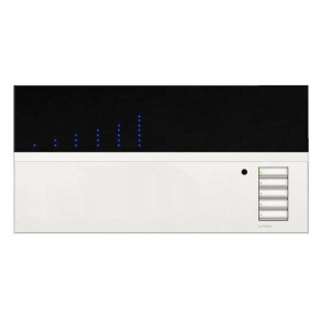 Lutron Grafik Eye QS 6-Zone Lighting Controller in Matte White with Translucent Top QSGRK-6PCE-TWH