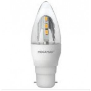 Megaman 143890, 5W Incanda-LED Candle Dimming B22 2400K