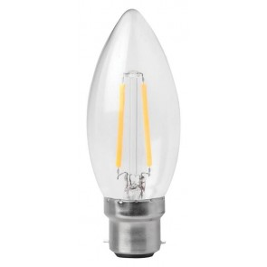 MEGAMAN 143919 3W Filament Candle B22 2700K