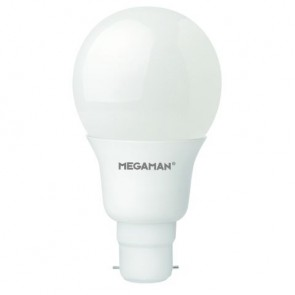 Megaman 148314 10.5W Opal Classic Dimming LED B22 2800K