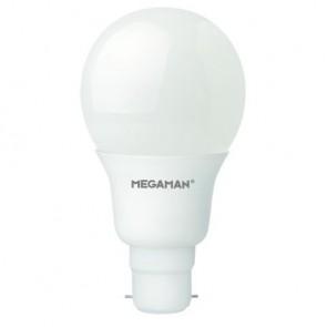 Megaman 148314 10.5W Opal Classic Dimming LED B22 2800K