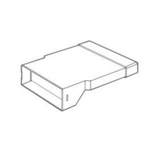 Manrose 1572 Extended Horizontal Airbrick - For 225mm to 300mm System, Fits Direct to Flat Channel