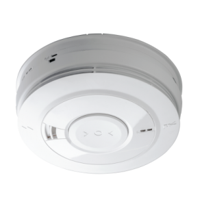 Aico EI166E Optical Smoke Alarm Mains Powered with Rechargeable Battery Backup