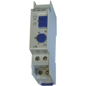 MODST18 Modular Staircase Delay Timer 30 seconds to 20 minutes, 16A