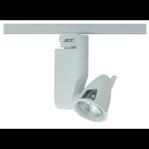 JCC JC14102WH Aztek Track Spotlight HiSpot ES50 50W GU10 IP20 White