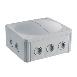Wiska 10101462 Combi 1210 Junction Box IP66/67 Grey Polypropylene