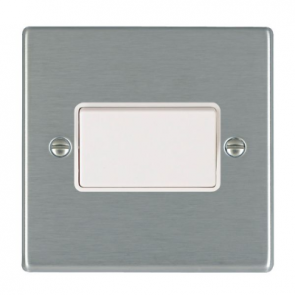 Hamilton Hartland 74TPWH-W Rocker TP Fan Isolator Switch 1G 10A White Insert