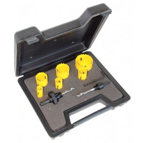 C.K. Tools Hole Saw Kit 9 Pcs Electrician (424045)
