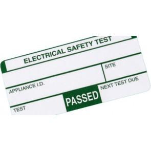 Kewtech 500PASS Appliance PASS labels