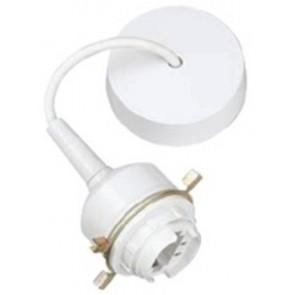 Legrand 660307, Pendant Set, ES Energy Saving w/o Lamp, 3in Drop, Size: 13/18W