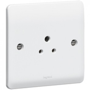 Legrand Synergy 730059 Socket 1G Unswitched 2A 250V White