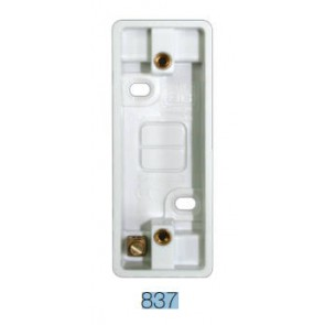BG Electrical 837 1G, Arch Blank,19mm