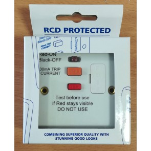 BG Electrical 855RCD 13A RCD Fused Connection Unit