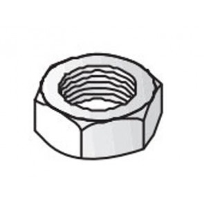 Unistrut Channel 9345M8 Nut, Hexagon, Size: M8