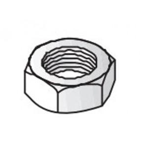 Unistrut Channel 9345M10 Nut, Hexagon, Size: M10