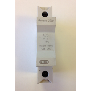Eaton MEM Memera 2000 AC5 HRC fuse carrier and fuse