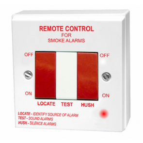 Aico Ei411H Remote Control, Switch for Smoke/Heat Alarms