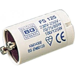 British General FS125 70, 75, 80, 85, 100-125 Watt Fluorescent Starter