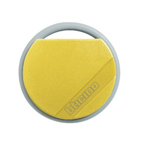 Bticino 348206 Yellow Transponder Key Fob