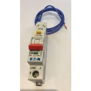 Eaton MEM EMCH110R30C Memshield 3 10A SP Type C RCBO 30mA 10kA