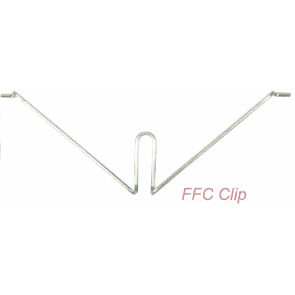 SWA FFC3 FireFly Safety Internal Clips for Plastic Trunking 40mm x 16mm (Box of 100)