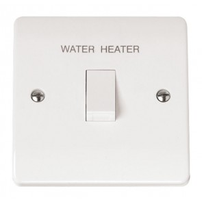 Scolmore CMA040 20A DP Water Heater Switch