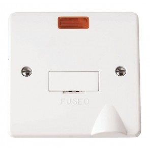 Scolmore CMA053 13A Fused Connection Unit With Neon