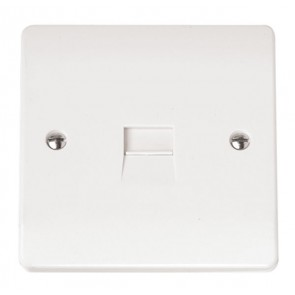 Scolmore CMA119 Single Telephone Outlet - Master