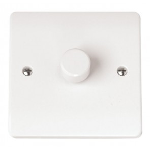 Scolmore CMA140 1 Gang 2 Way 400Va Dimmer Switch