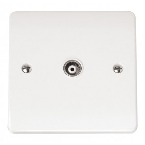 Scolmore CMA158 Single Coaxial Outlet