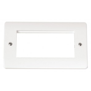 Scolmore CMA312 2 Gang New Media Unfurnished Plate