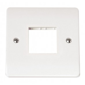 Scolmore CMA402 1 Gang MiniGrid Unfurnished Plate