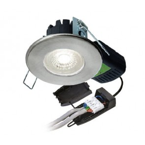 Collingwood DLT4335530 Downlight, H2 Pro 550 SPS 3000K LED Fire Rated, Dimmable T Connector 55Deg IP65