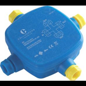 Collingwood JB2 (series) Waterproof Junction Box 1 Input 3 Output IP68 20W 24V