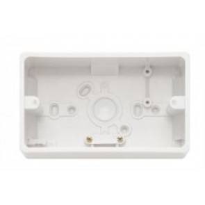 Contactum 1045 Double Surface Box 37mm - Moulded, White