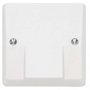 Contactum X2177 45A Cooker Flex Outlet with Terminals - Moulded, White