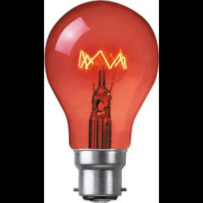 Crompton FIR60BC  60w BC Fireglow GLS
