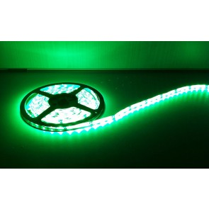 Deltech LST60G 5m Roll Flexi LED Strip 12V 60LED/M 240lm/M IP65 Green, 4.8W per metre