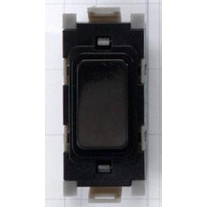 Deta G3514BK 20A DP Grid Switch Black