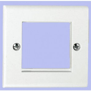 Deta S1422 White Euro Module Data Plate 2 Module