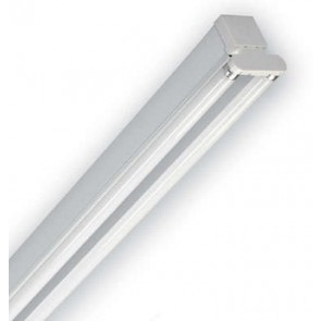 Dextra Lighting DP236HFC84 Dexpax White Twin High Frequency Fluorescent Batten Luminaire with 2 x 36W T8 Lamp 4ft