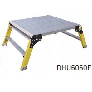 Titan DHU6060F Hop Up Fibreglass Work Platform 150kg Rated